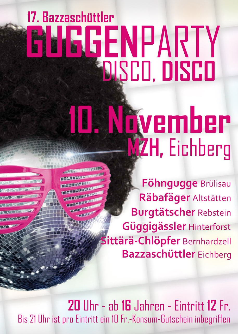 Flyer Guggenparty DINA5